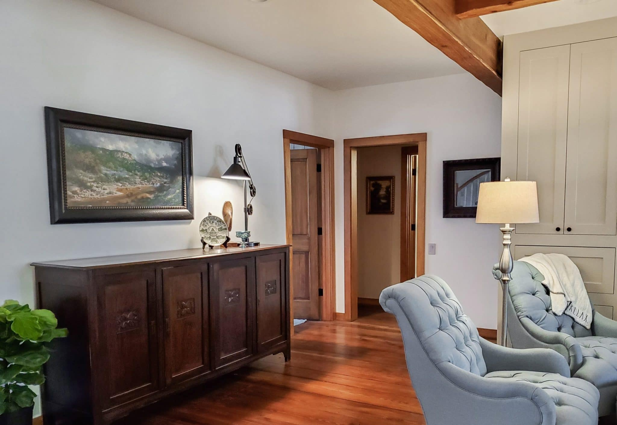 Harvest Haus Hall to Master Suite